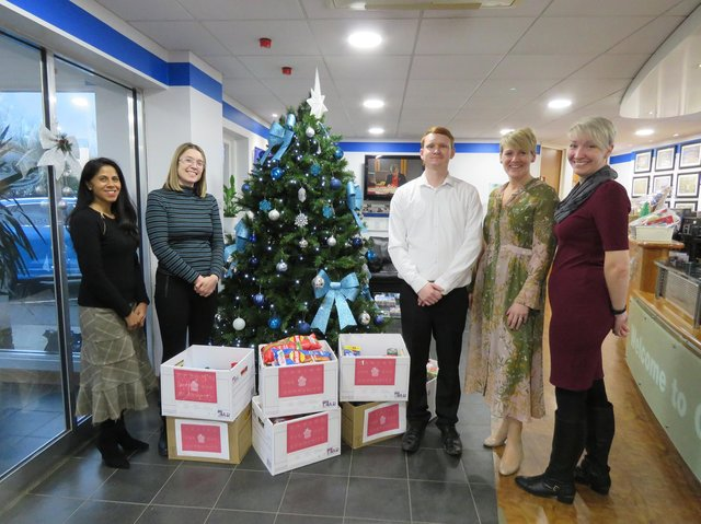 Bedford Foodbank Appeal Gets Boost From Wootton Staff At