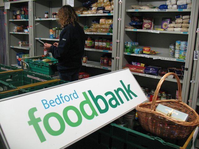 Bedfords Foodbank Appeal Raises Staggering 14k Bedford Today