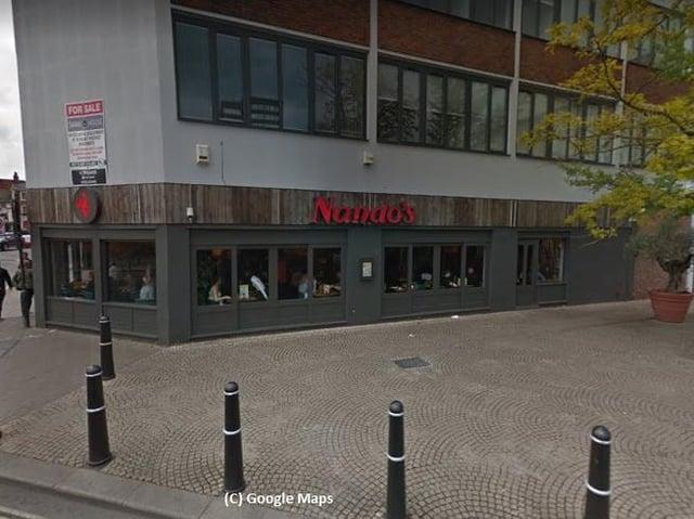 Nando's in Bedford (C) Google Maps