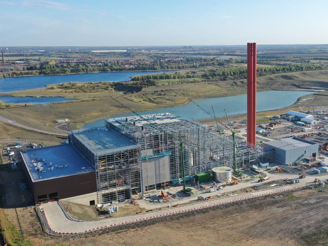 The new plant will process 545,000 tonnes of waste each year