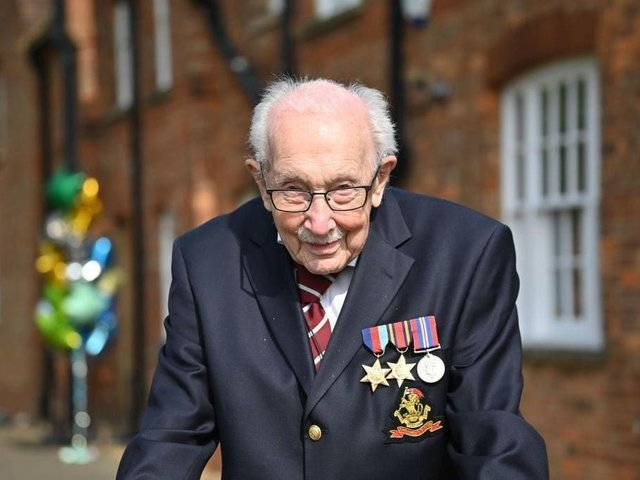 Captain Sir Tom Moore raised nearly £33million for NHS charities ahead of his 100th birthday last year by walking laps of his garden in Marston Moretaine. He died at Bedford Hospital on February 2 after testing positive for Covid-19