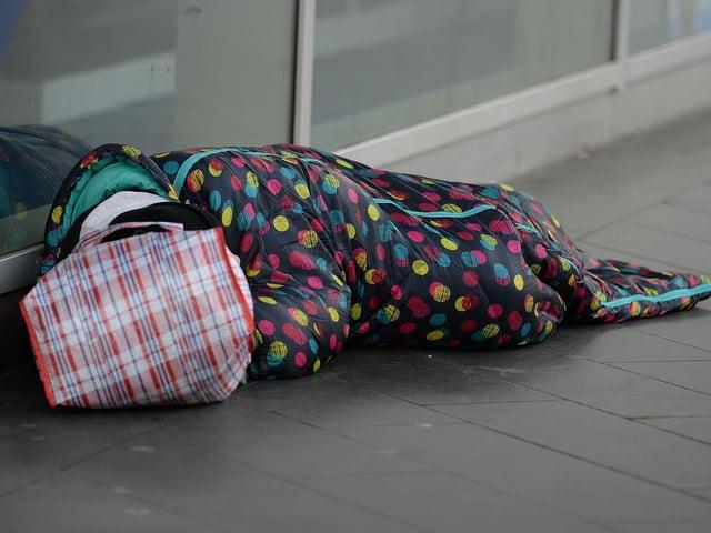 Fewer people were sleeping rough in Bedford last autumn