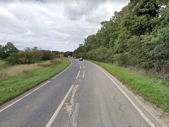 A stretch of the A507 between Warren Lane and Beadlow Manor Golf Club will reduce to 50mph