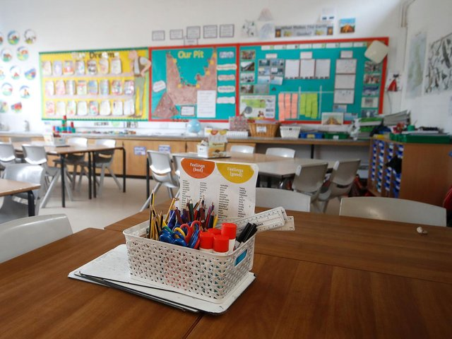 Department for Education figures reveal just 17 per cent of pupils were being taught on site at schools in Bedford, in the latest snapshot assessment of attendance taken on February 11