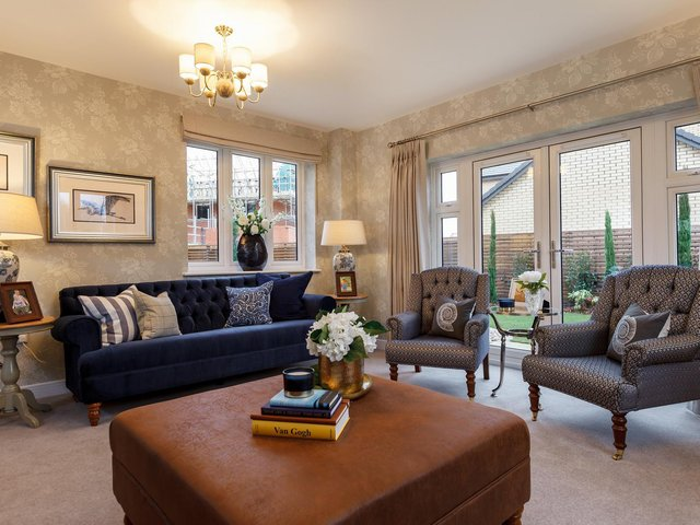 A showhome at Bellway's Berry Wood development in Wootton