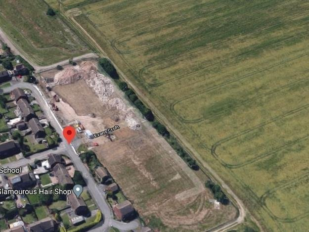 Could this farmland near Shortstown be a development site (Google)