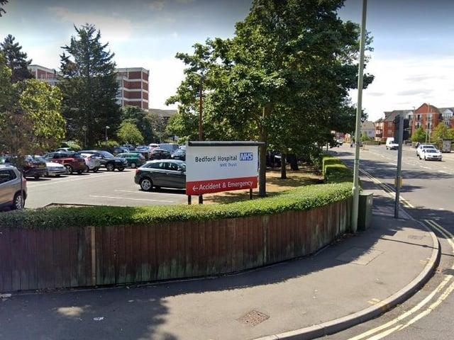 Bedford Hospital (C) Google Maps