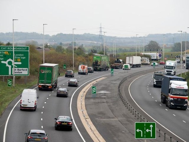 Congestion on the Black Cat roundabout is a common sight for drivers