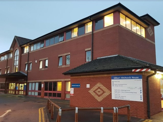 A new system is in place for booking blood tests at Bedford North Wing
