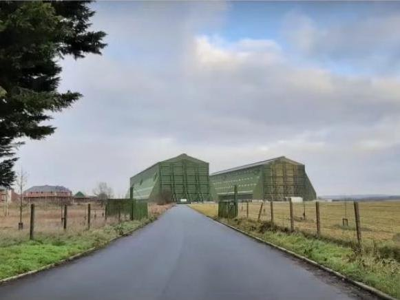 The airship sheds at Cardington (Bedford Council)