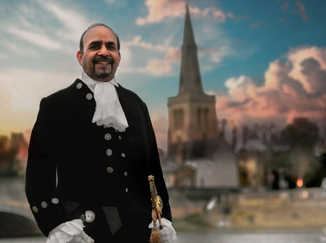 The new High Sheriff of Bedfordshire for 2021/2022 was sworn in yesterday