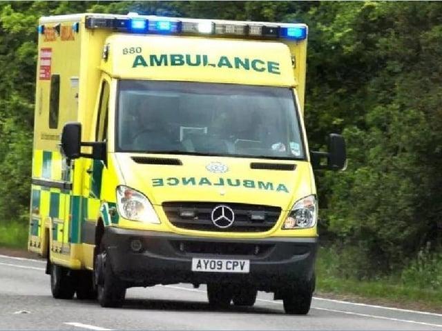 Ambulance    (stock image)
