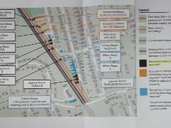 This map was part of a letter sent to some houses marked for possible compulsory purchase/demolition