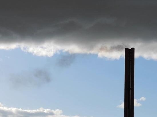 One resident took this picture at the incinerator last Thursday (April 15)