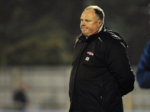 Manager Gary Setchell