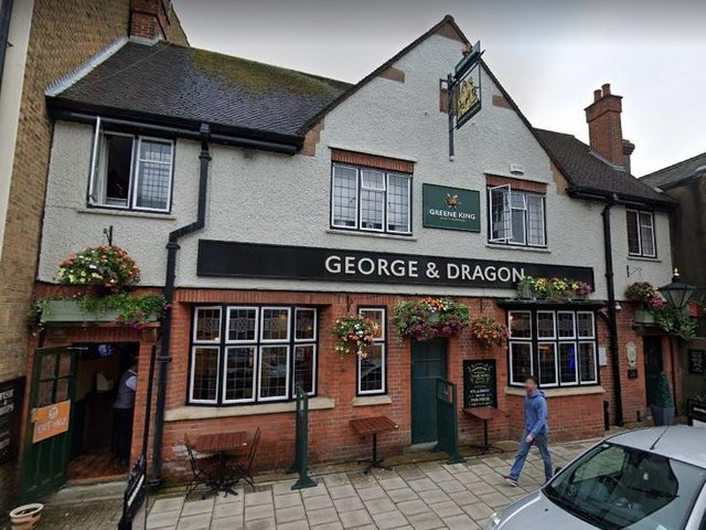 The George & Dragon in Mill Street, Bedford