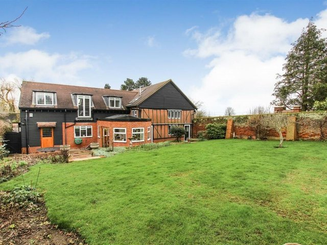 The stunning property is on the market for £850,000