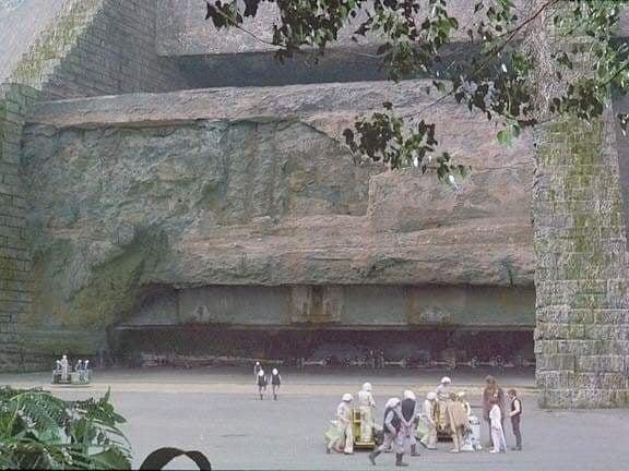 How the hanger appeared on film in A New Hope