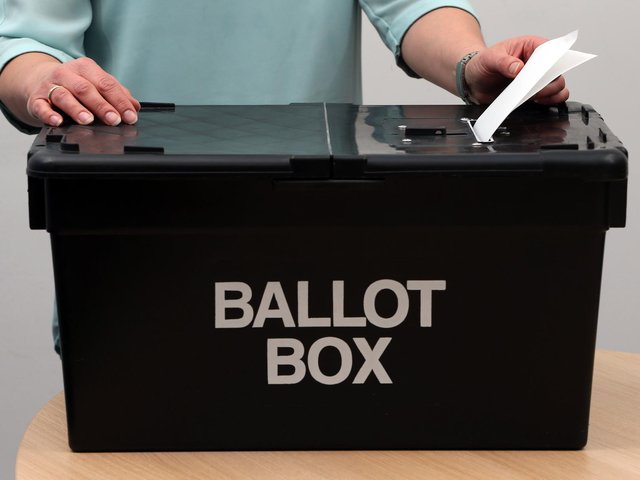 The PCC election takes place on May 6