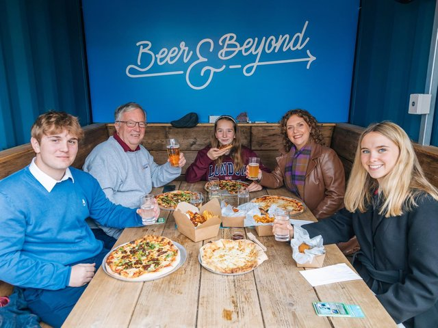 The Captain Tom Foundation visits Bedford's Brewpoint