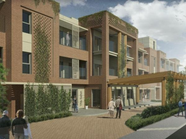 Steppingley Road main entrance (Pic: Concertus Design & Property Consultants)