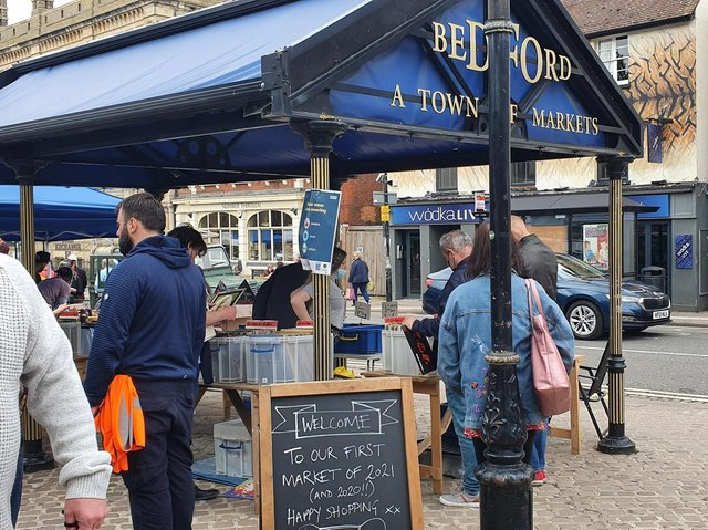 Crowds flocked to the Bedford Flea, Affordable Art & Local Produce market.