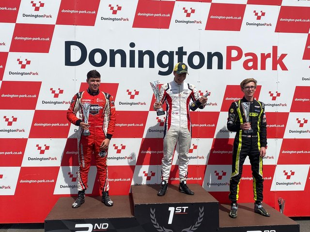 Alex Walker, 17, enjoyed his second BRSCC National Formula 1600 victory of the season at the weekend