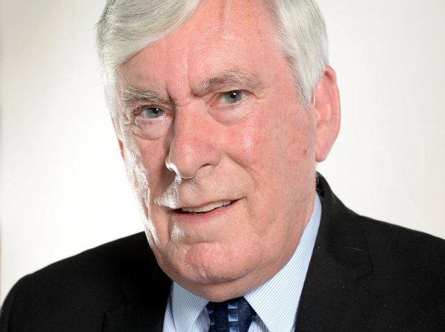 Chairman of Central Bedfordshire Council Cllr Brian Saunders