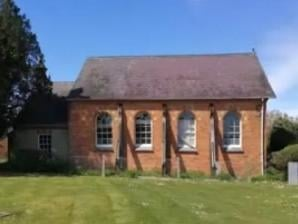 The former chapel will be turned into a house