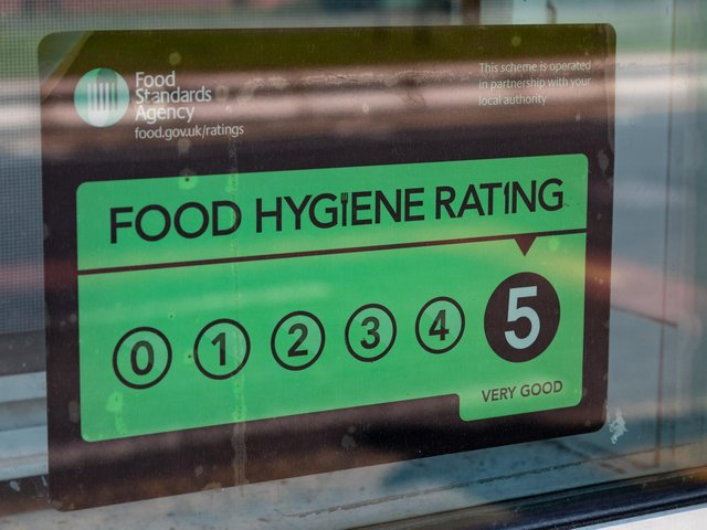 These businesses all received a five star food hygiene rating in 2021