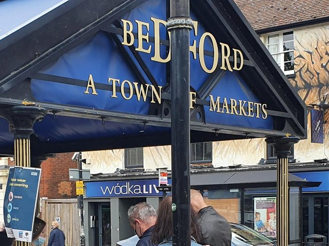 A craft market is taking place in Bedford