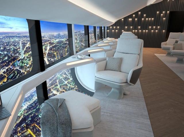 The 72 passenger cabin Airlander 10