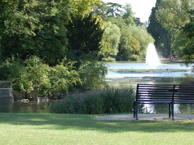 Why not enjoy the sunshine in Bedford Park?