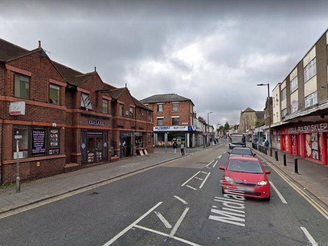 Some of the money will be spent on the regeneration of Midland Road