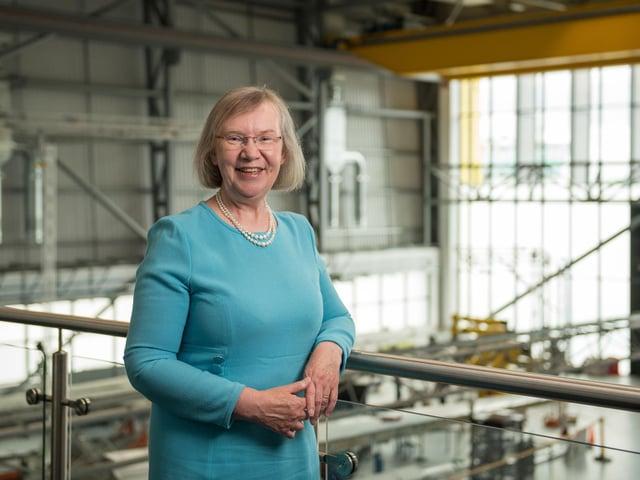 Cranfield University's Professor Dame Helen Atkinson CBE