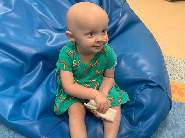 Aubrey, who was diagnosed with a rare cancer earlier this year