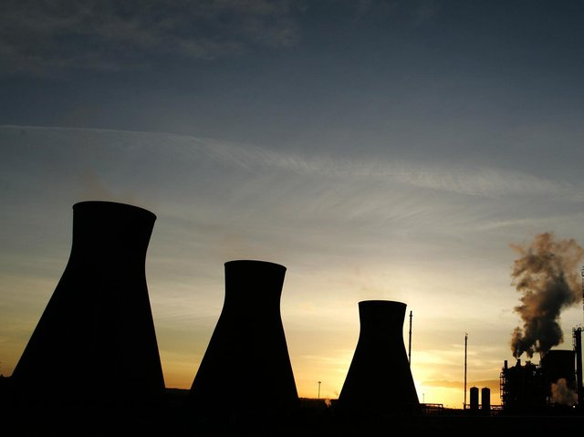 The figures cover household emissions, as well as industrial, commercial and public sectors