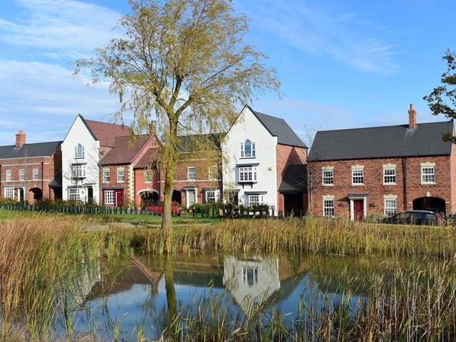 A typical Davidsons Homes development