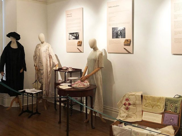 The exhibition includes items that have never been on display before