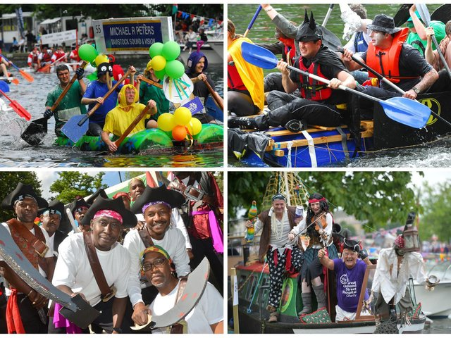 We took a look in our archives to bring you these pictures of Bedford River Festival