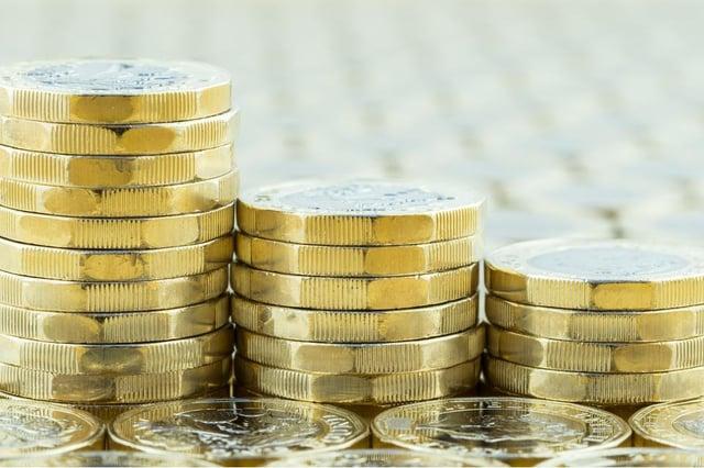 Average salary: 97,083 GBP